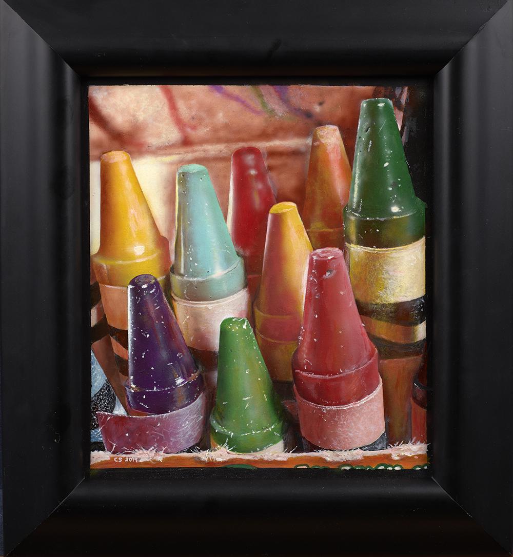cesar_santander_cs1009_12_crayons_in_a_box_framed.jpg