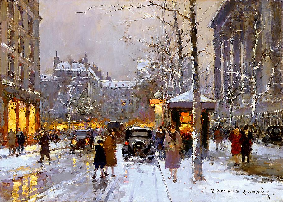 edouard_leon_cortes_b1020_place_de_la_madeleine_in_winter.jpg