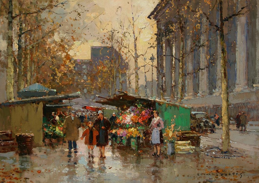 Souvent Flower Market, Madeleine AE87
