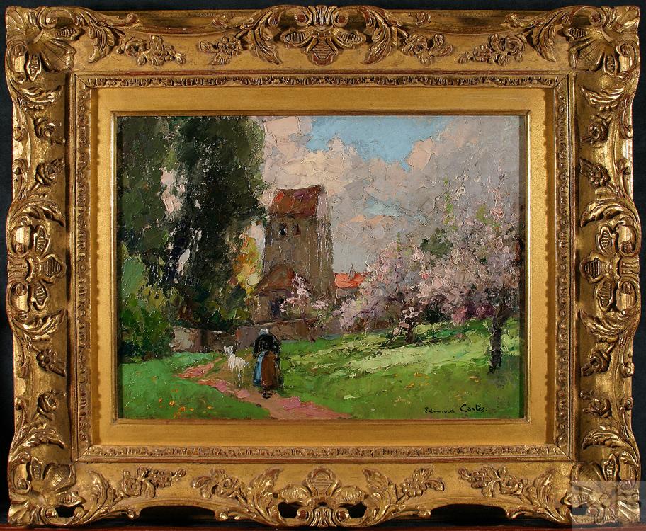 edouard_leon_cortes_b1229_pommiers_en_fleurs_framed_wm.jpg