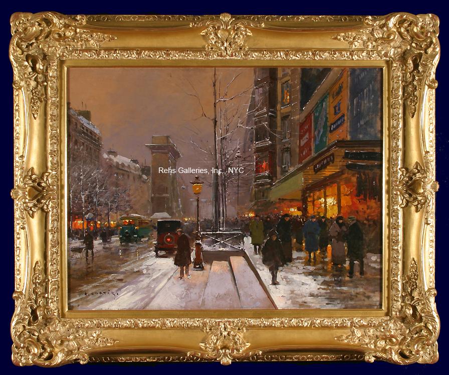 edouard_leon_cortes_b1732_porte_st_denis_winter_framed_wm.jpg
