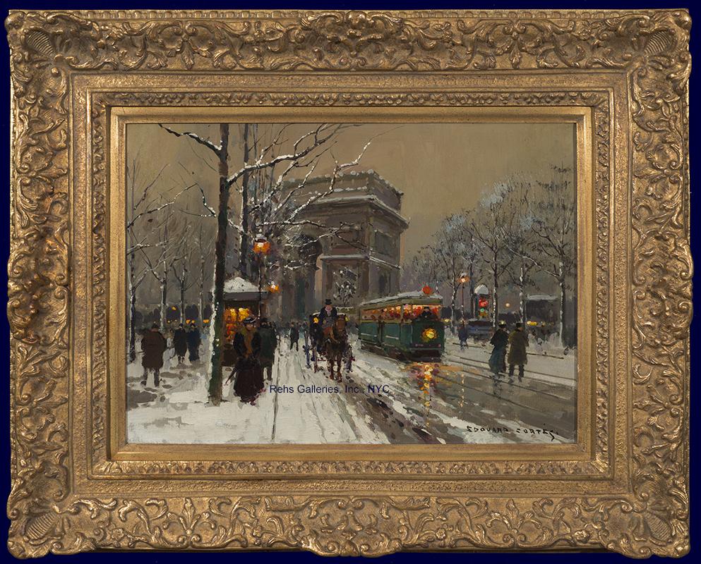 edouard_leon_cortes_e1035_larc_de_triomphe_hiver_framed_wm.jpg