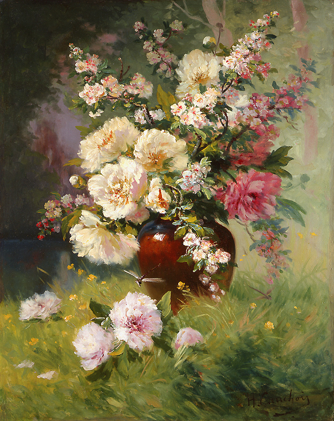 eugene_h_cauchois_a3740_peonies_and_cerisiers.jpg