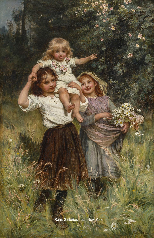 Wild Roses - Rehs Galleries, Inc.