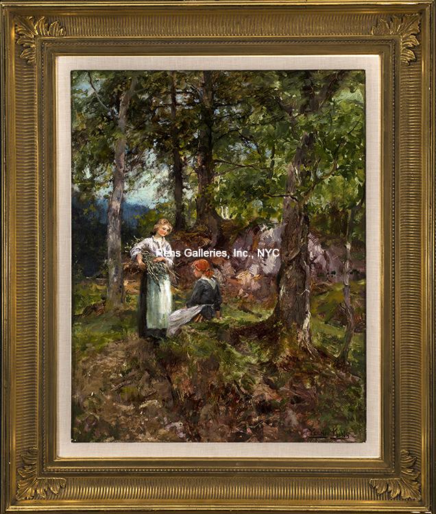 henry_john_yeend_king_b1907_a_rest_in_the_woods_framed_wm.jpg