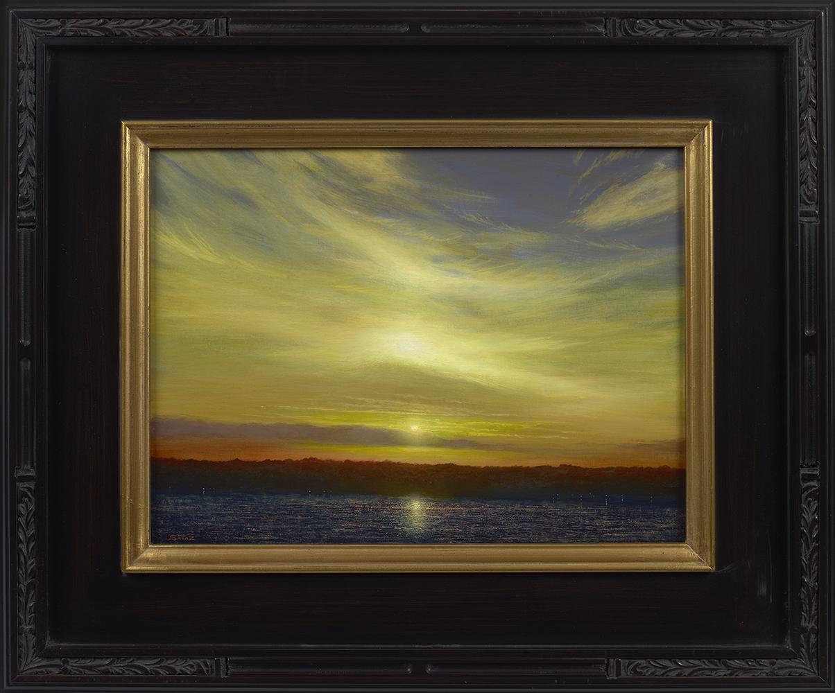 ken_salaz_kws1099_sunset_from_ocean_cliff_newport_rhode_island_framed.jpg