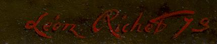 leon_richet_b1876_un_après-midi_tranquille_fontainebleau_signature.jpg