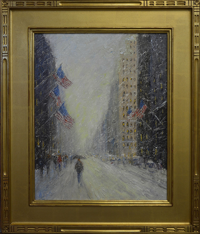 mark_daly_md1015_flags_and_snow_nyc_usa_framed.jpg