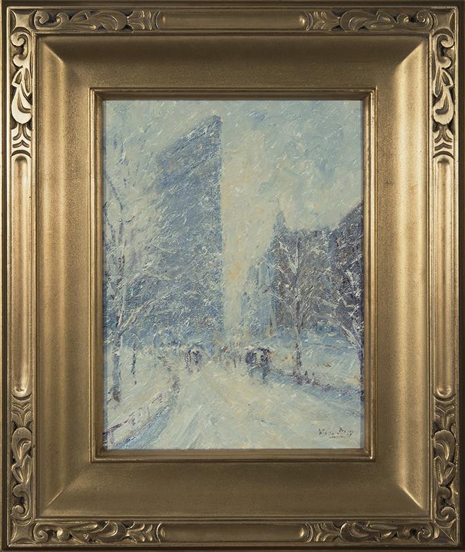 mark_daly_md1038_flatiron_building_in_snow_framed.jpg